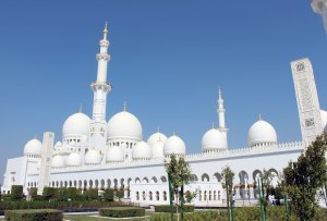 UAE Abu Dhabi 13 Grand Mosque exterior