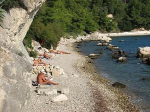 CRO Split 06 Nudist beach