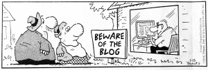 Beware of the Blog copy
