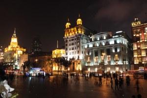 PRC Shanghai 13 Bund by night 1a