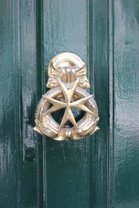 a Maltese cross