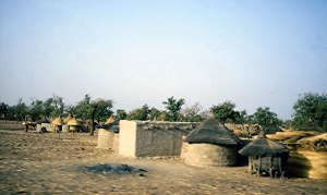 4 Village scene