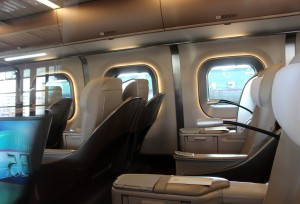 Shinkansen interior 1 small