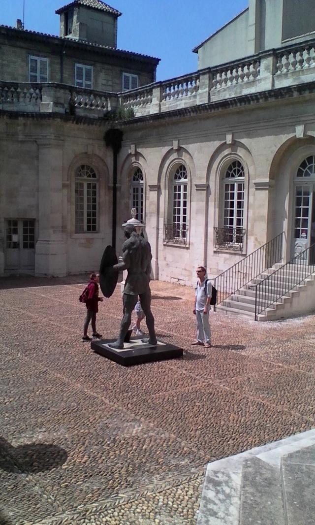 FRA Avignon 17 Musee Calvet Courtyard 2