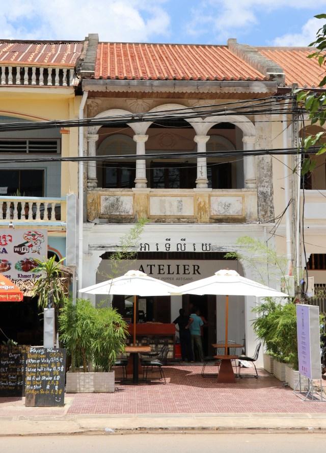 Cambodia Kampot Atelier restaurant hotel