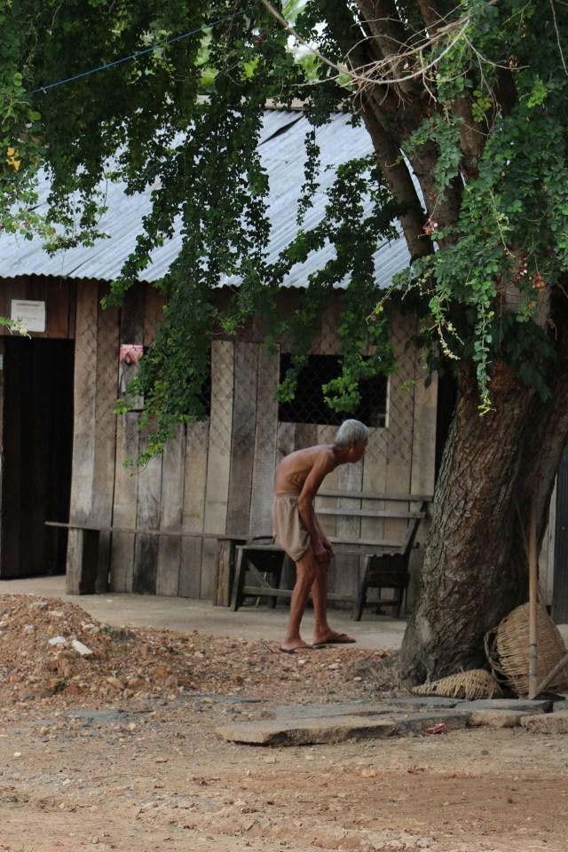 Cambodia Kampot Old man 2