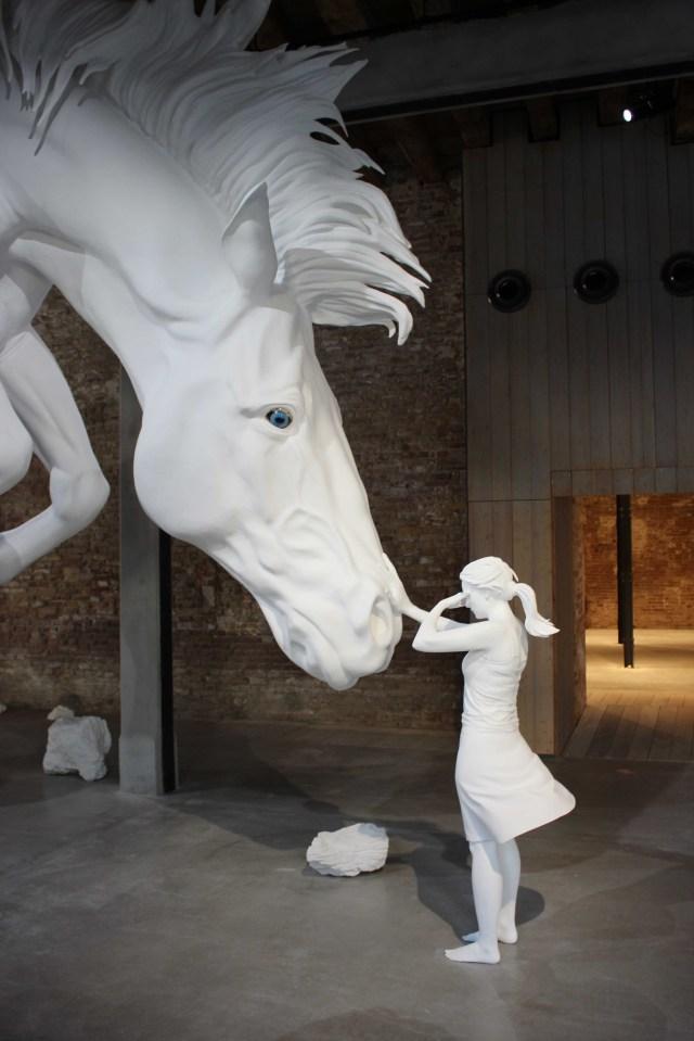 ITA Venice Biennale Argentina Claudia Fontes Horse Problem 2