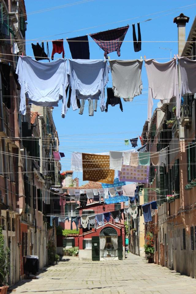 ITA Venice Biennale Laundry in Corte de Casarasina