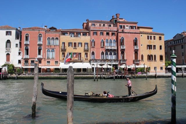 ITA Venice Hotel Principe and gondola