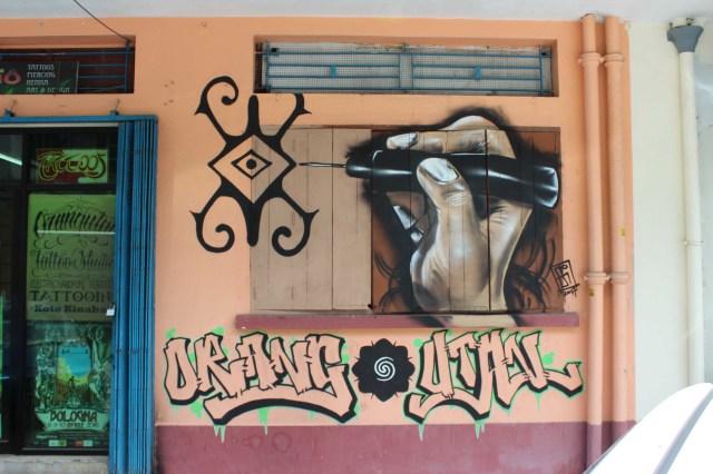 MAL Kota Kinabalu STreet art 2