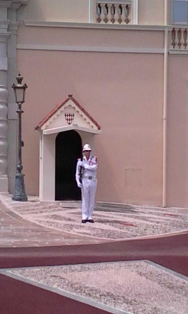 MON Monte Carlo Palace Guard