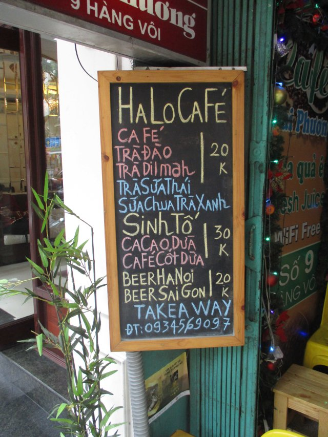 VNM Hanoi HaLo Cafe