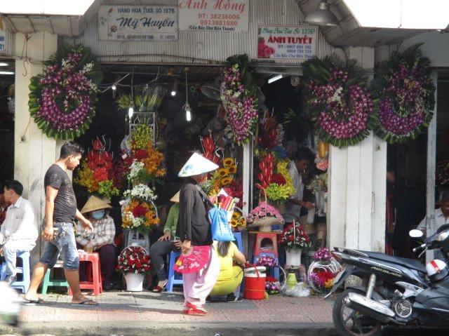 VNM HCMC Flower market