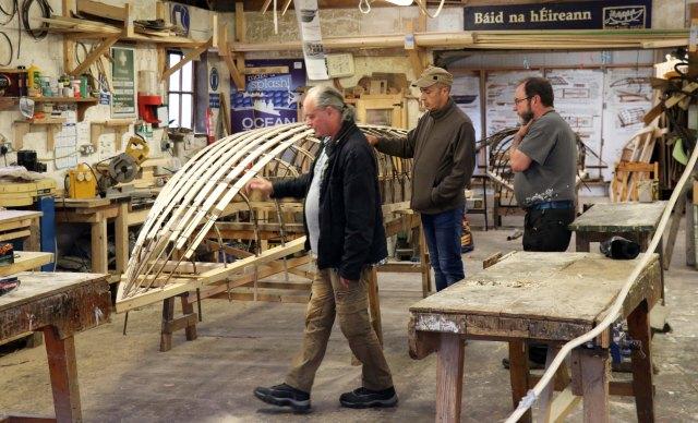 Cork boatyard