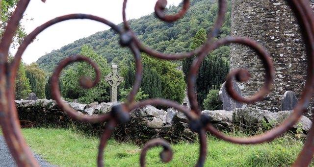 Glendalough cross