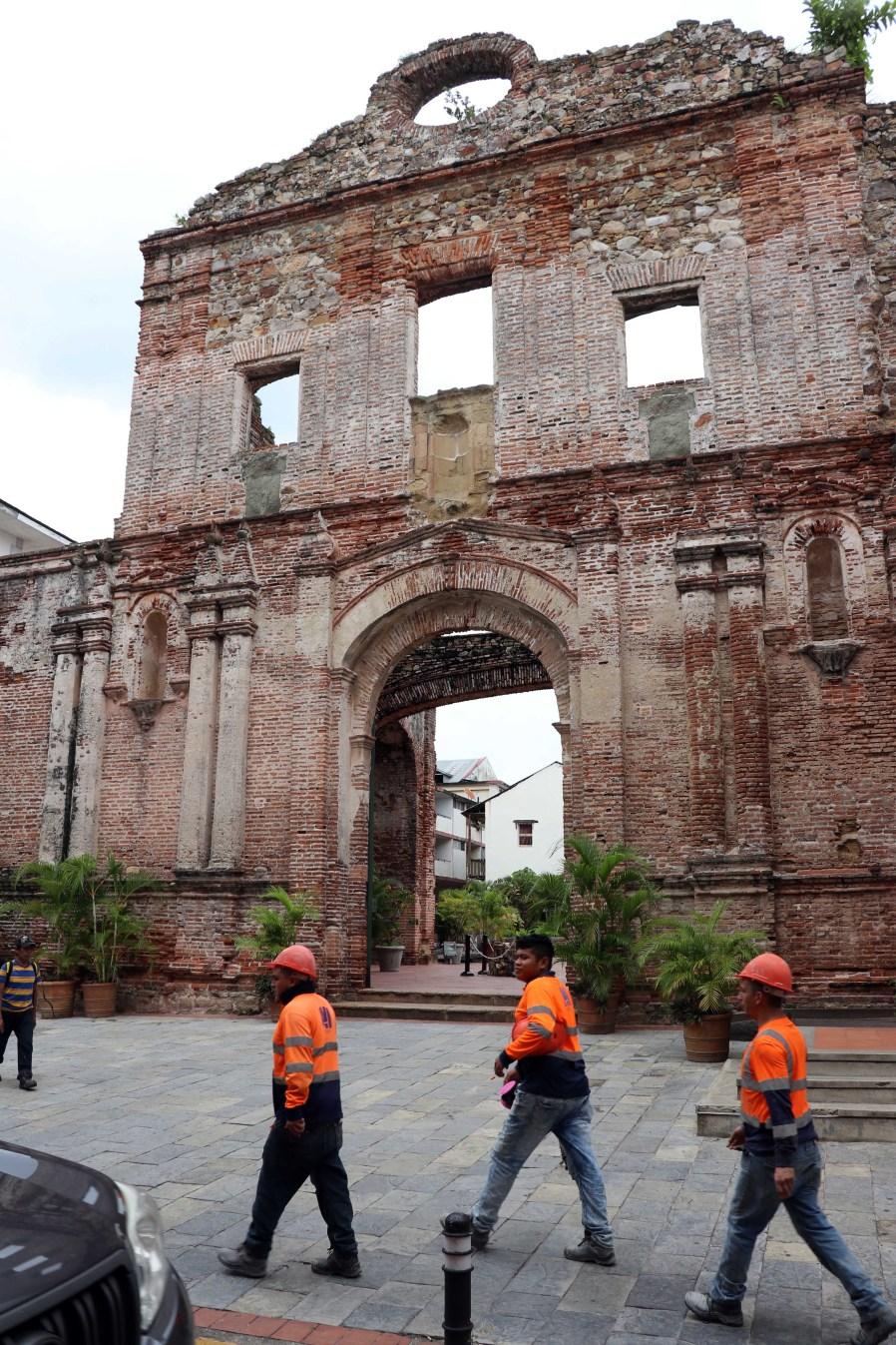 Santo Domingo ruins