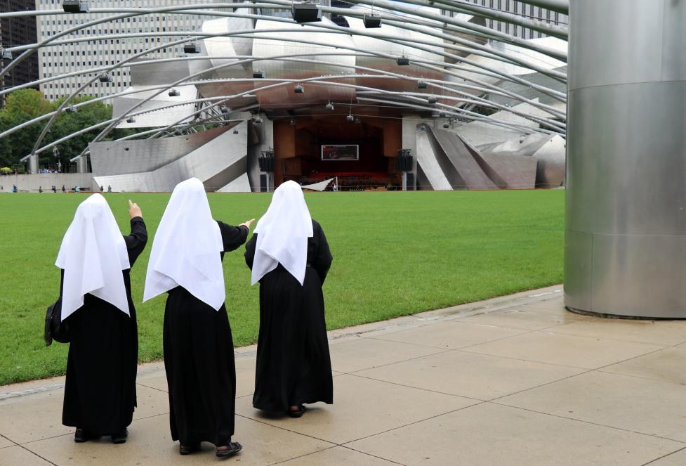 Nuns withoput phone