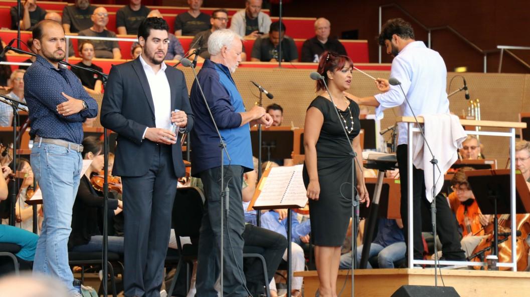 Traviata rehearsal
