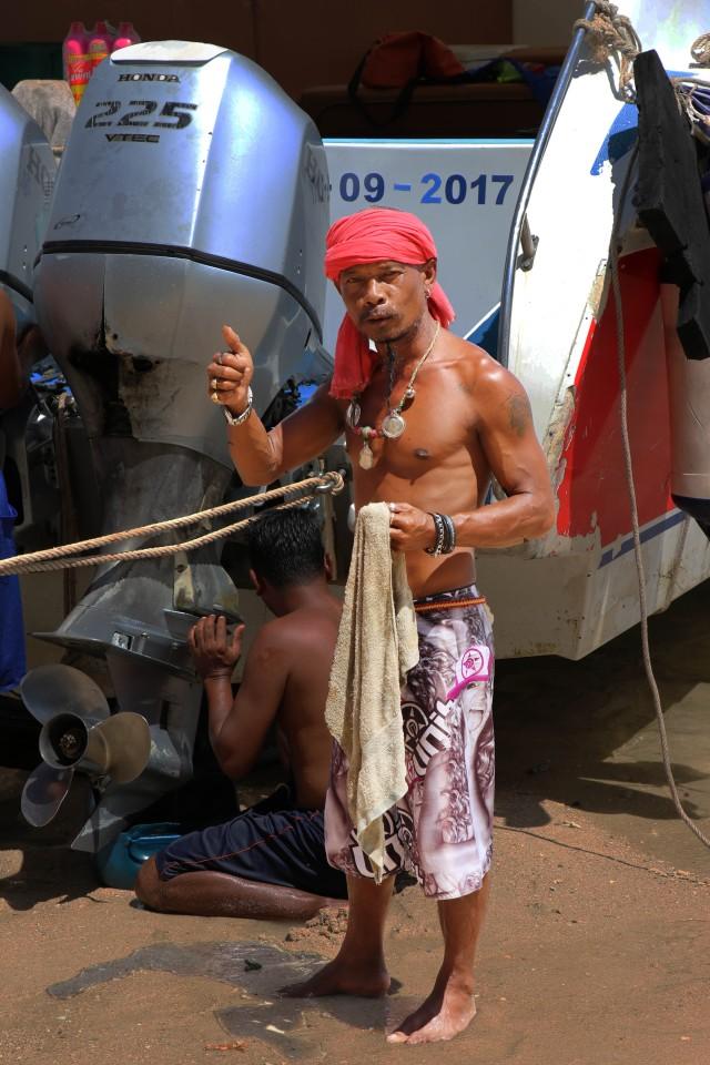 Rawai boatman