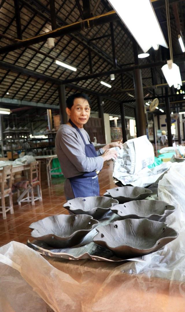 Celadon craftsman