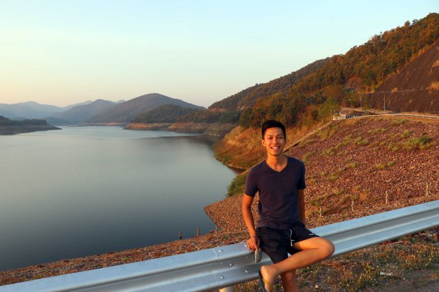 Mae Kwang Dam and Apinum