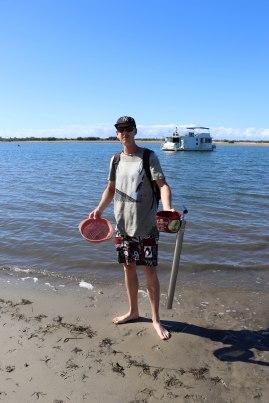 Yabbie fisherman